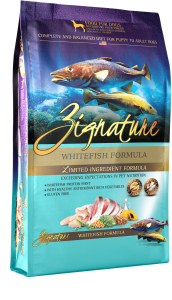 Zignature Whitefish Kibble