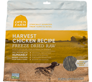 Open Farm Harvest Chicken Freeze Dried Raw